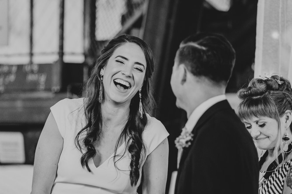 laughing-bride-black-and-white