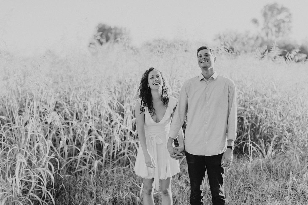 black-and-white-laughing-couple
