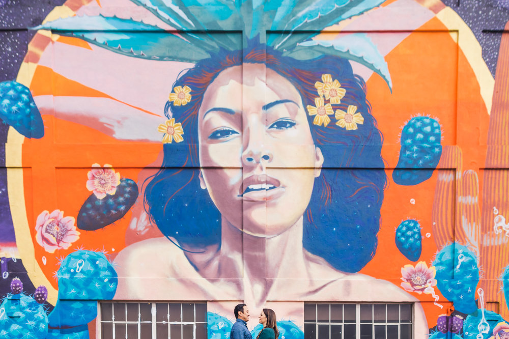 colorful-mural-engagement-session-tucson