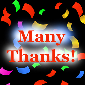 Thanks to my new clients! (Click here for a list)