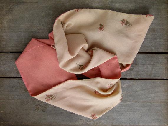 vintage fabric scarf