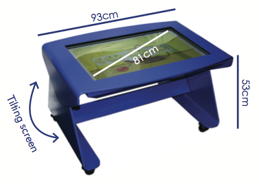 Digital Nursery with measurements