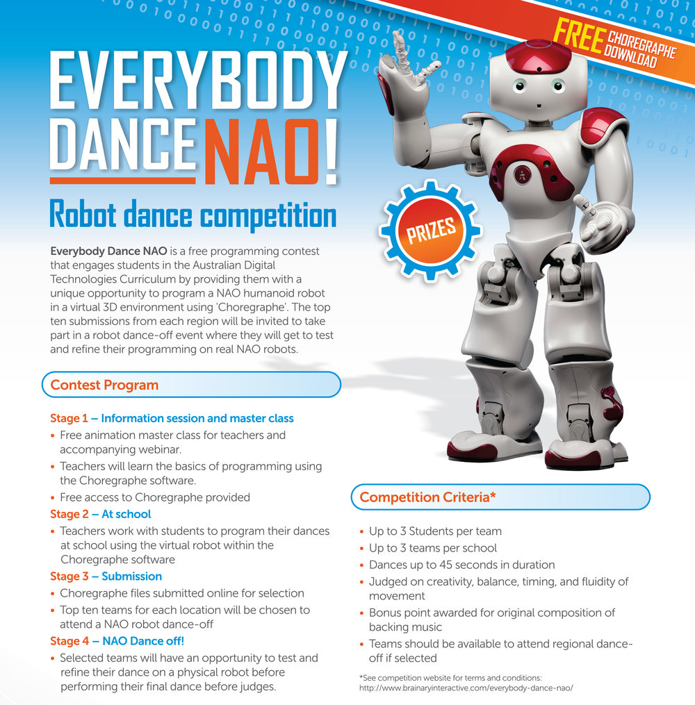 Everybody Dance Nao Brainary Interactive