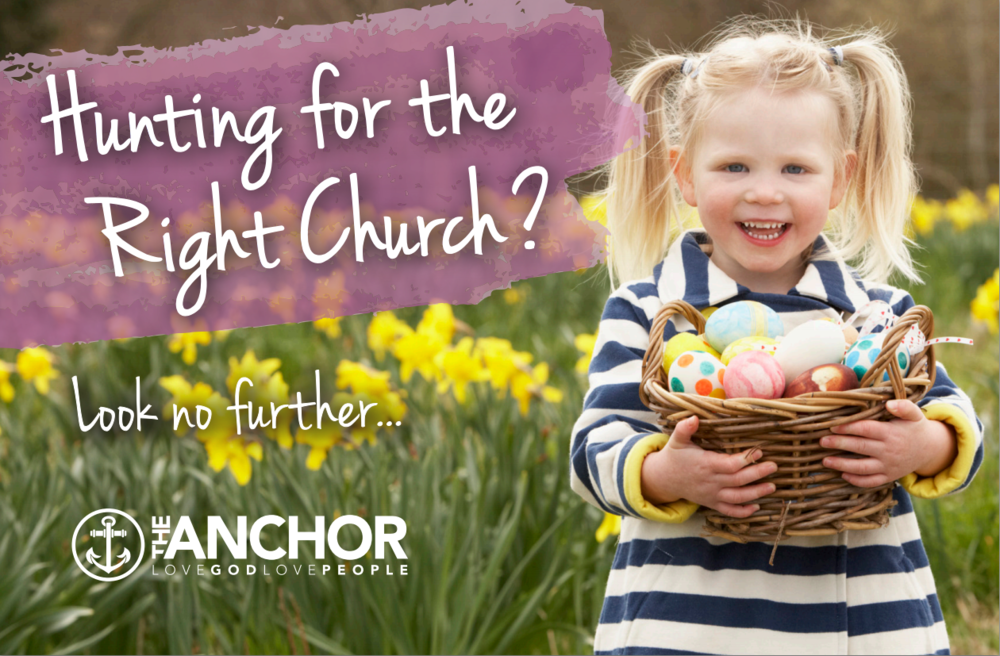 Hunting for the Right Church? Look no further... The Anchor in Bensenville