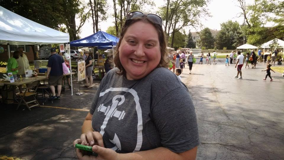 AnchorKids Minister Val Sutton at Family Farm Fest