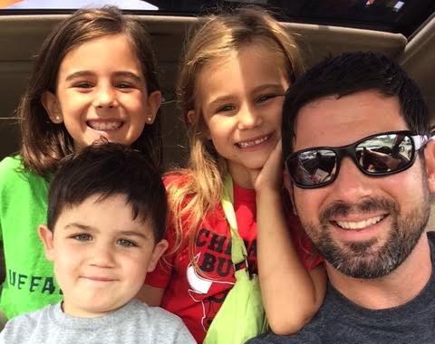 Jon and kids