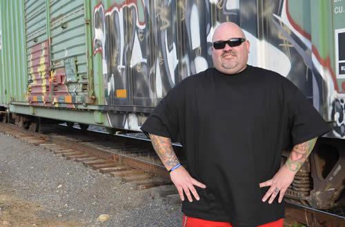 Chris Baker, founder of  Ink 180 . | photo via Ink 180