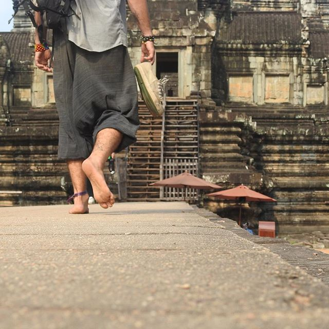 May our walk be gentle  Voices sweet  Eyes kind  Breath silent// Being Soft// No matter what  Be kind to everyone  These feet receive and I give unto you// Returning to the mother  Transmuting - into a feeling -  Of — something one, two, infinite-dimensional// Time passes quick, be as you are. Be your love.  March 2017 Cambodia, Siem Reap
