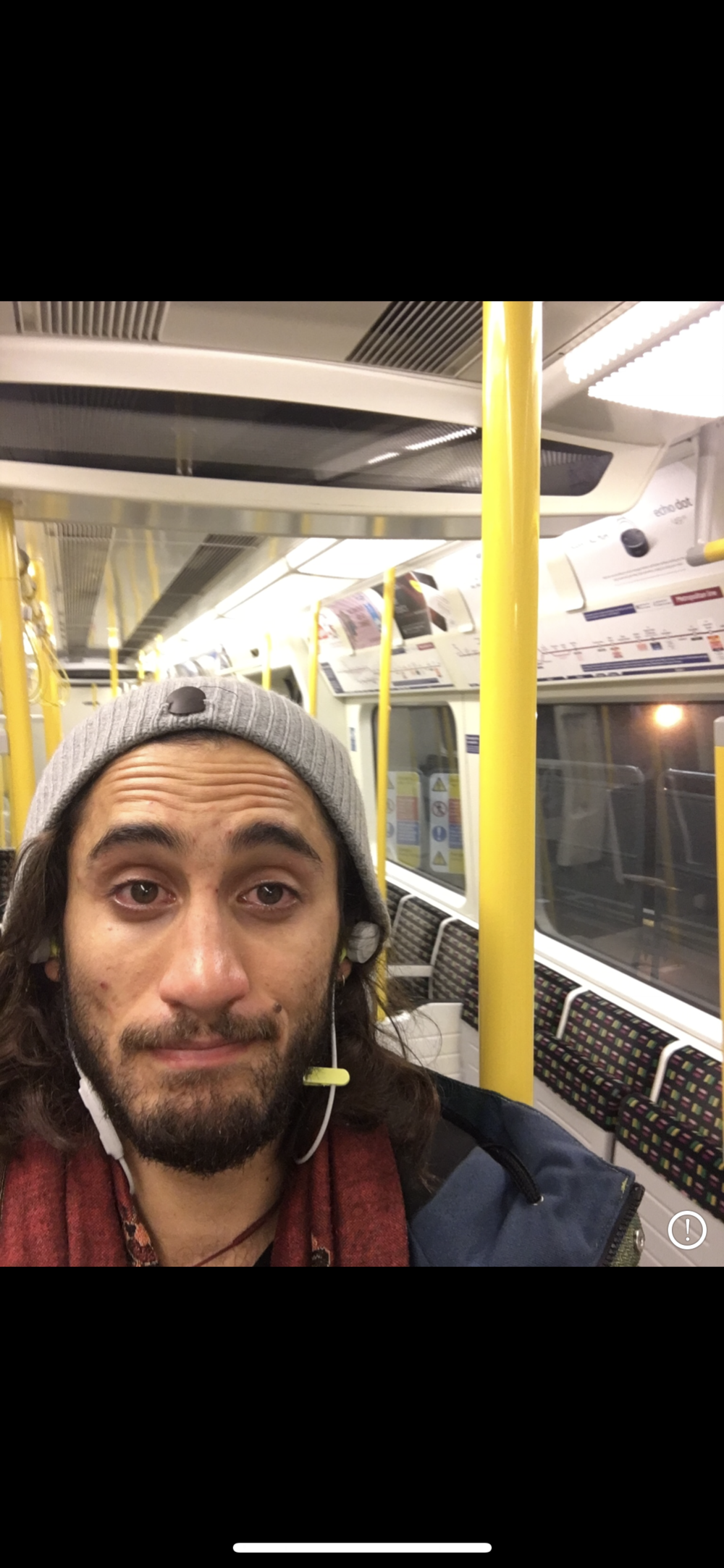 Tear filled Tube Rides. Sharing with love, We are never alone... 2017, November. London.