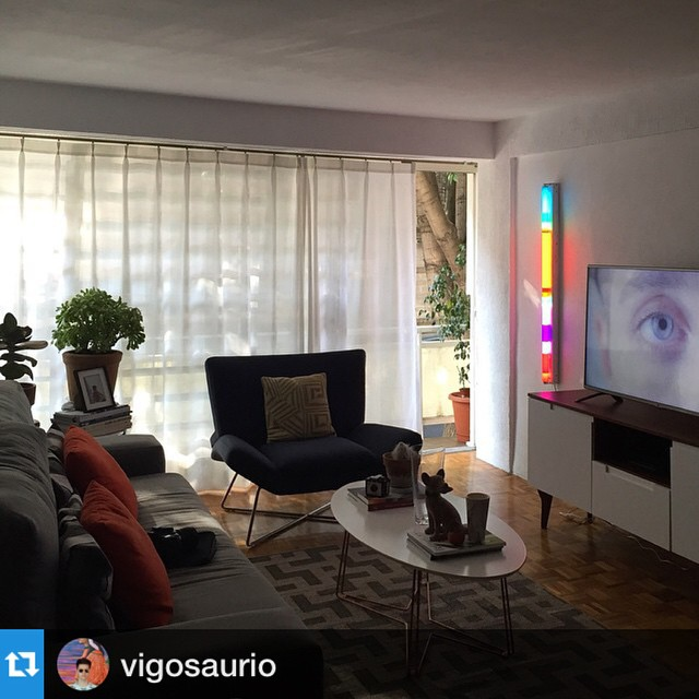Repost from our friend in #MexicoCity @vigosaurio. He has an intricate eye for #design and it is our pleasure to be a part of it!