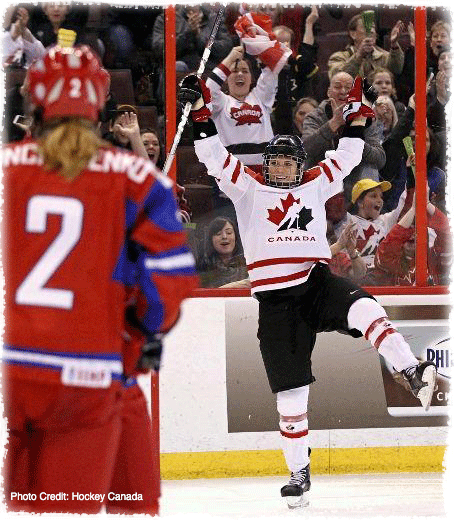 Clicking the above image will take you to my Hockey Canada Bio & Stats Page