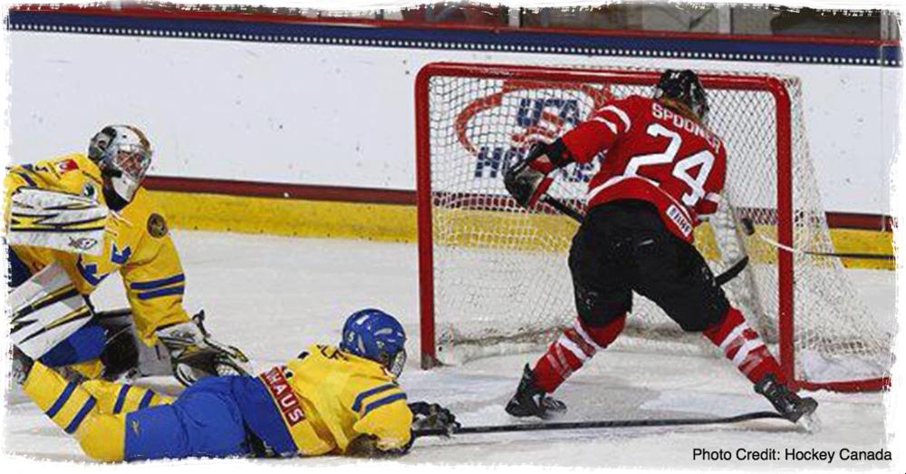 Natalie Spooner Four Nations Tournament