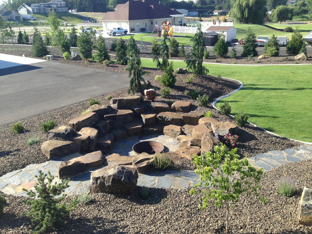 - Fire Pits — Rock Placing Company
