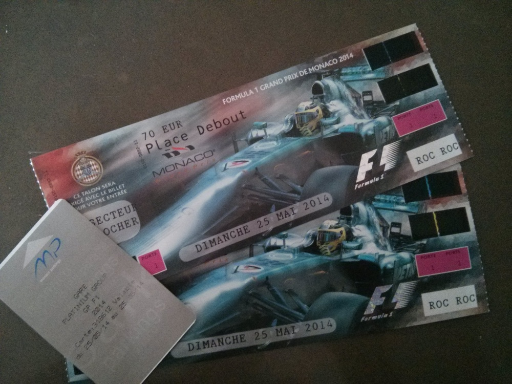 Tickets to the biggest racing event in the world!