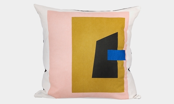 Fragment cushion: White