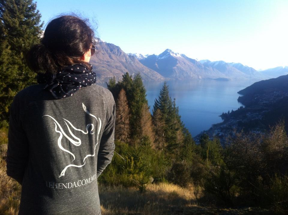 Olga in Queenstown, New Zealand!
