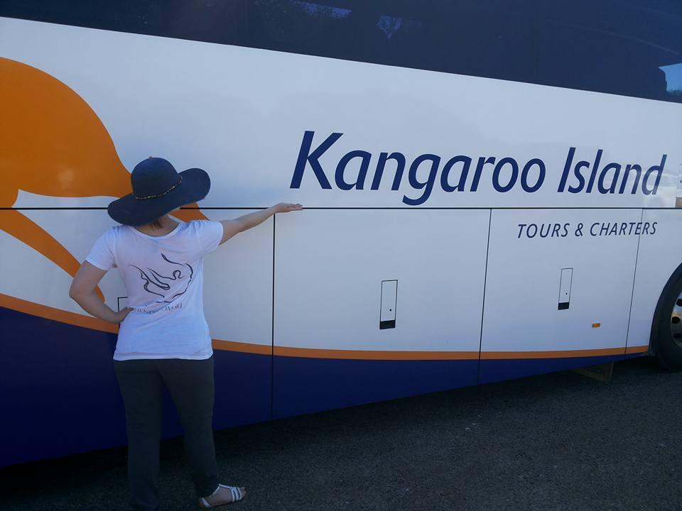 Tatiana in Kangaroo Island