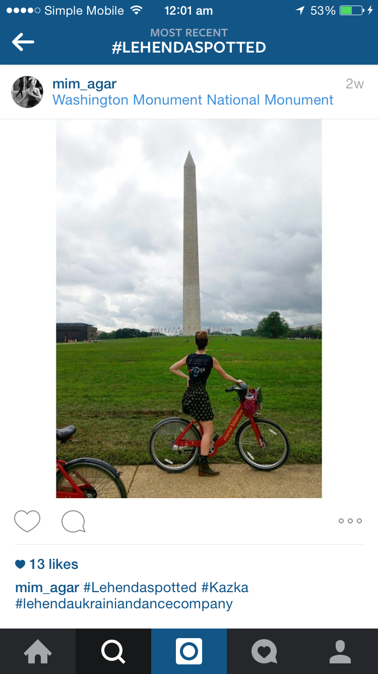 Imogen in Washington!