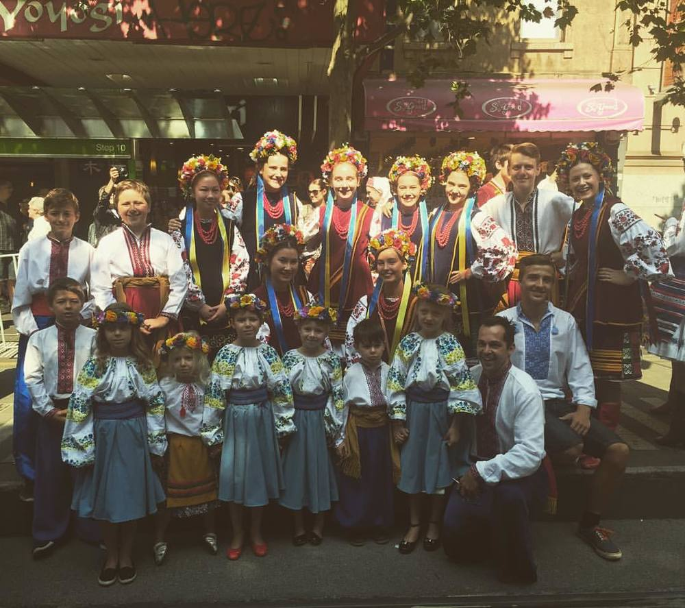 The Lehenda School at the Australia Day Parade