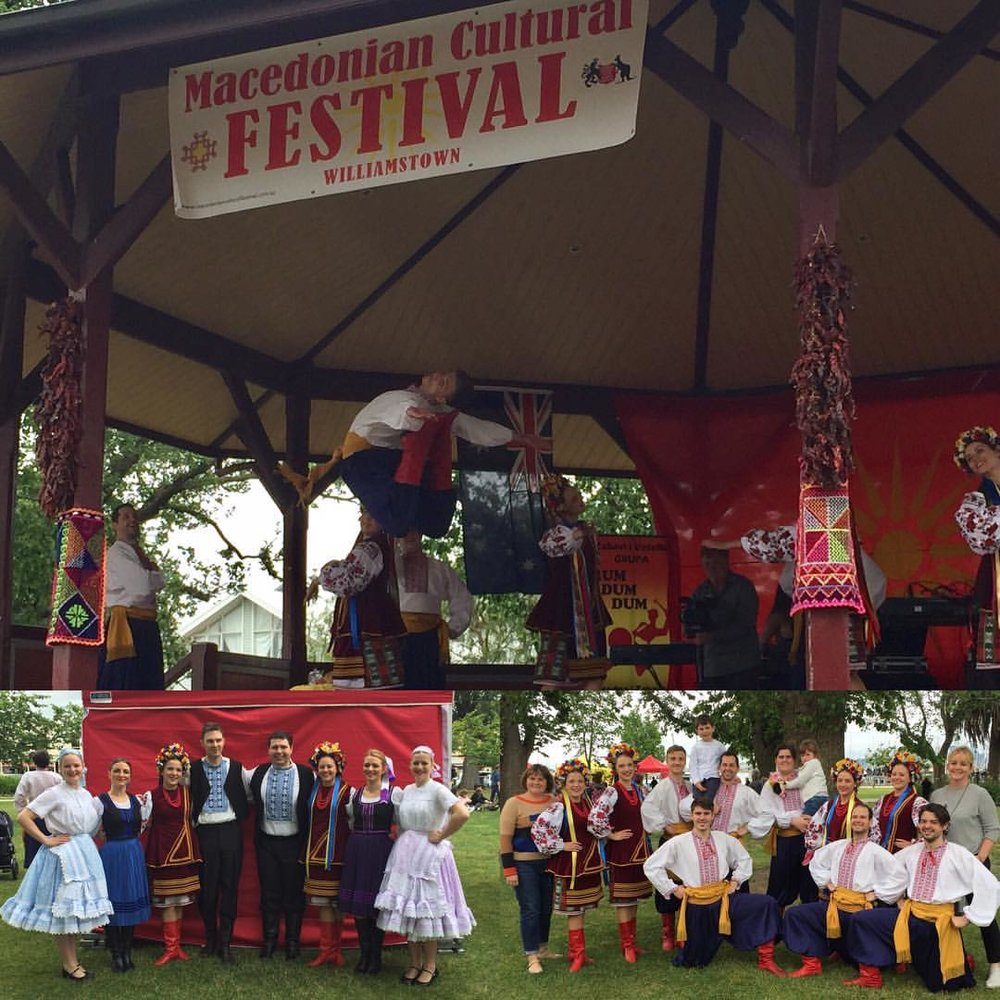 Macedonian Multicultural Festival in Williamstown 2016