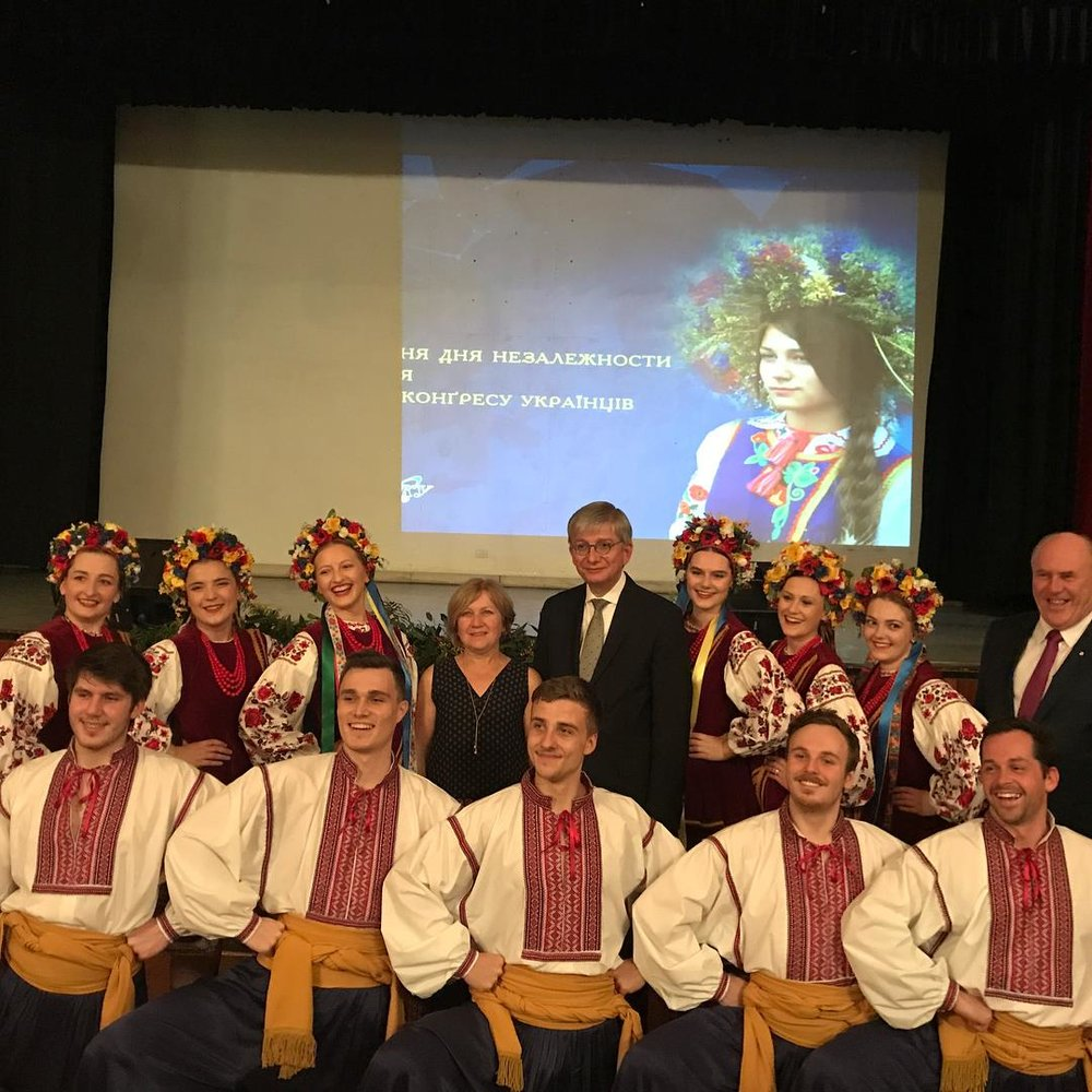 Celebrating Ukrainian Independence and 50 years of the Ukrainian World Congress!