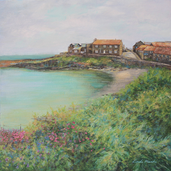 Craster Harbour by Linda Mumba