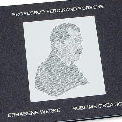 Buchprojekt _ Book project Professor Ferdinand Porsche
