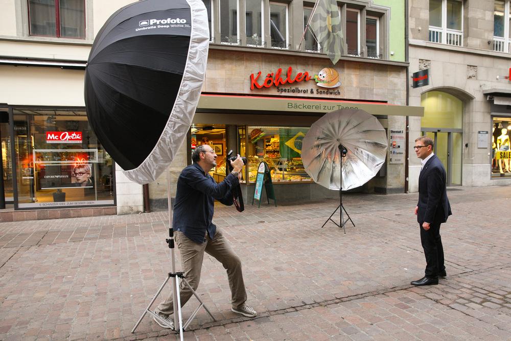 Impressionen vom Shooting (Fotos: Ursula Schäublin)