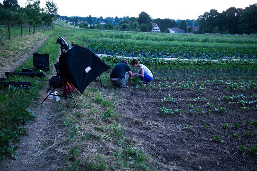 Vorbereitungen vor den ersten Sonnenstrahlen