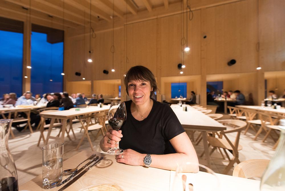 Ein toller Wurf ist das neue Chäserrugg-Restaurant, und auch das Essen ist exzellent. Ein Besuch lohnt sich.