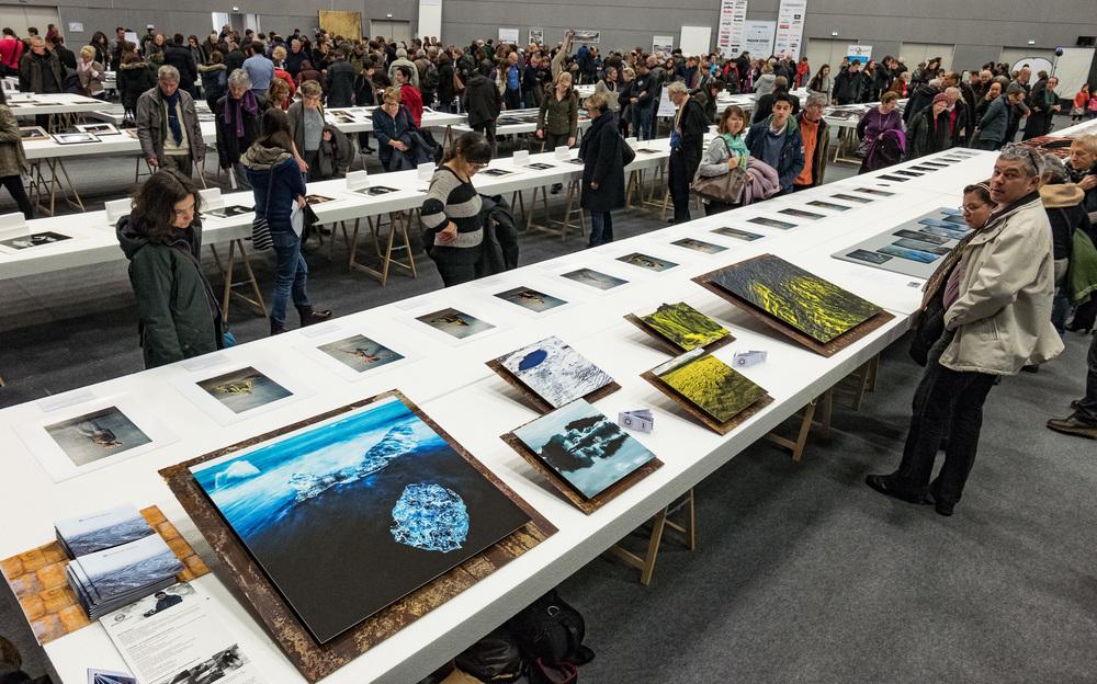 Zwei PHOTORIGINALS mit 83 x 83 cm und vier mit 42 x 42 cm. Die beiden Bilder ganz rechts sind verkauft, die anderen kannst Du noch erwerben
