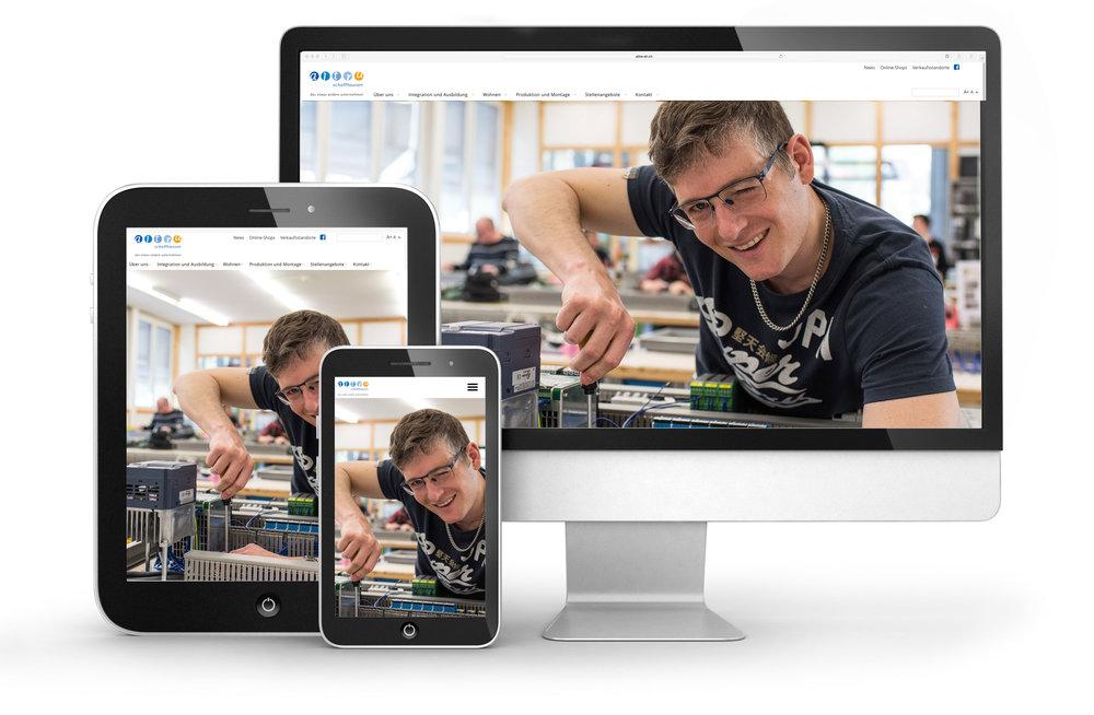 webdesign für altra Schaffhausen von 720 grad Schaffhausen