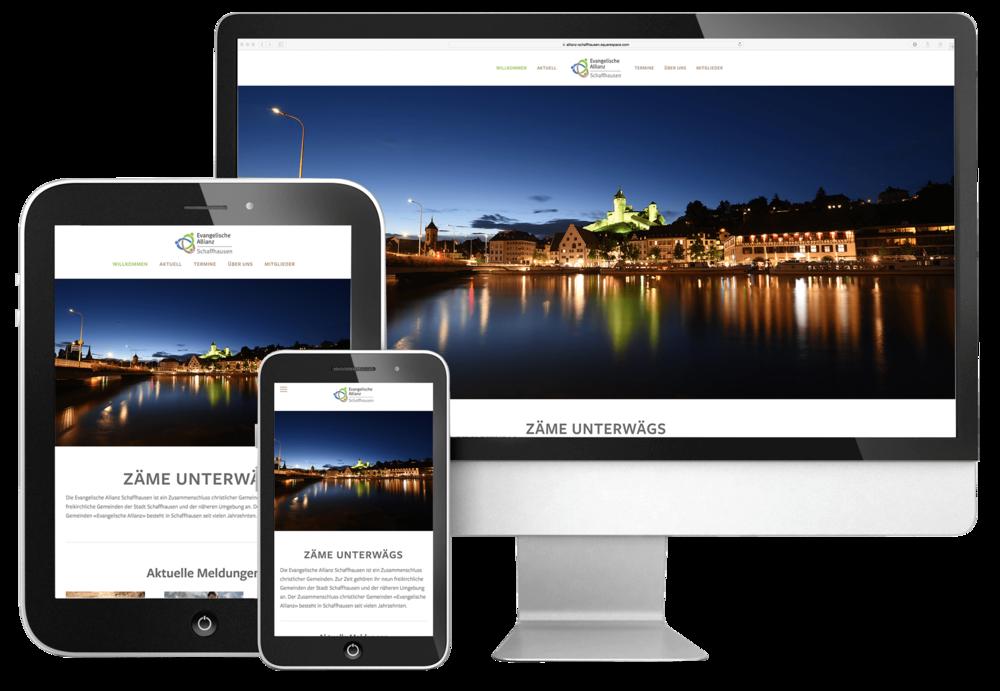 720 grad fotografie und webdesign für allianz schaffhausen