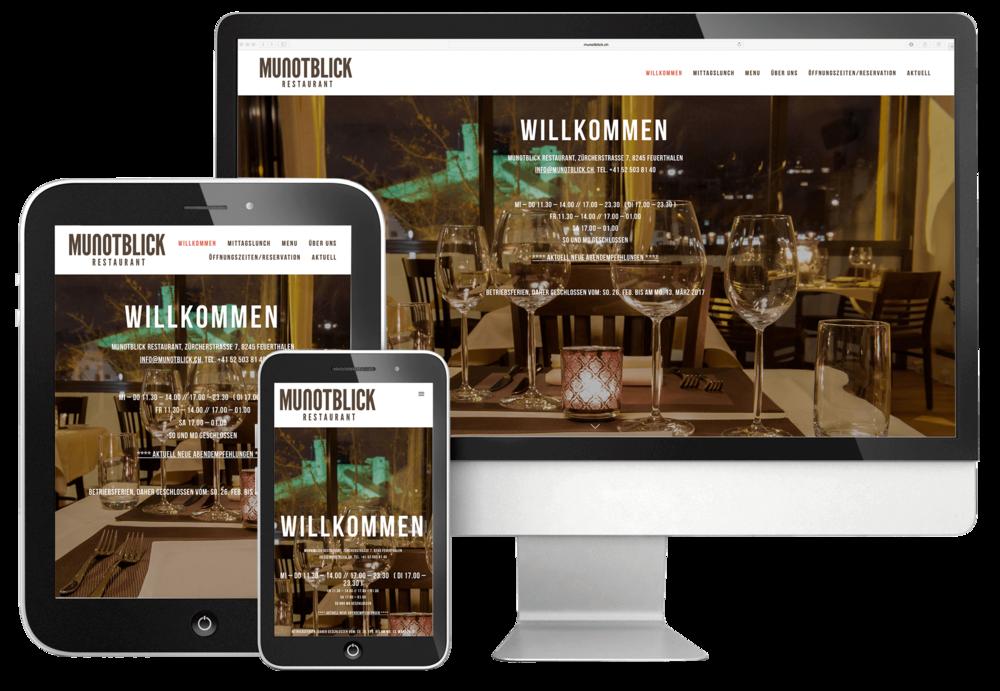 webdesign durch 720 grad schaffhausen für munotblick
