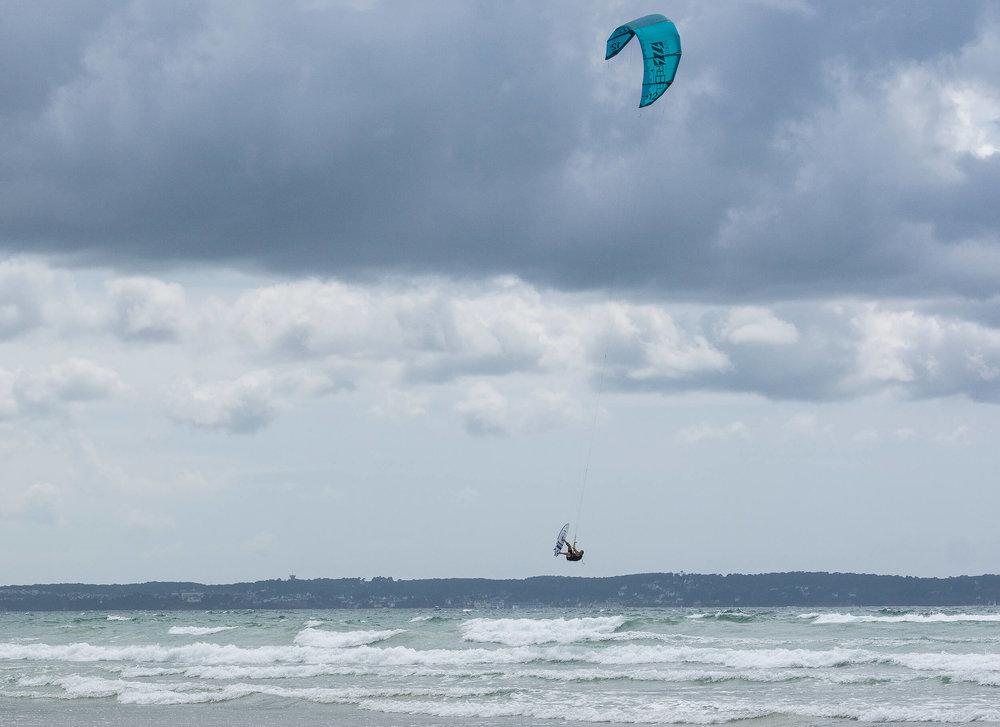 kitesurfer mit fuji gfx fotografiert von peter schäublin