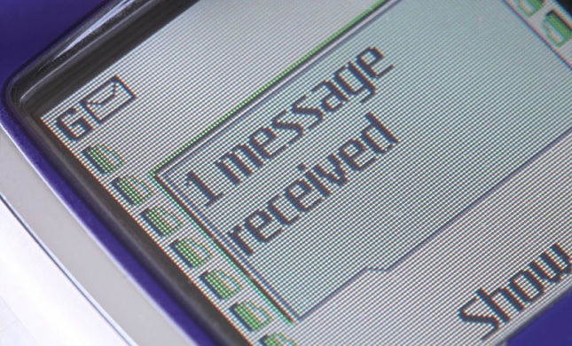 Nokia text messaging on a T9 keyboard. Those were the days.