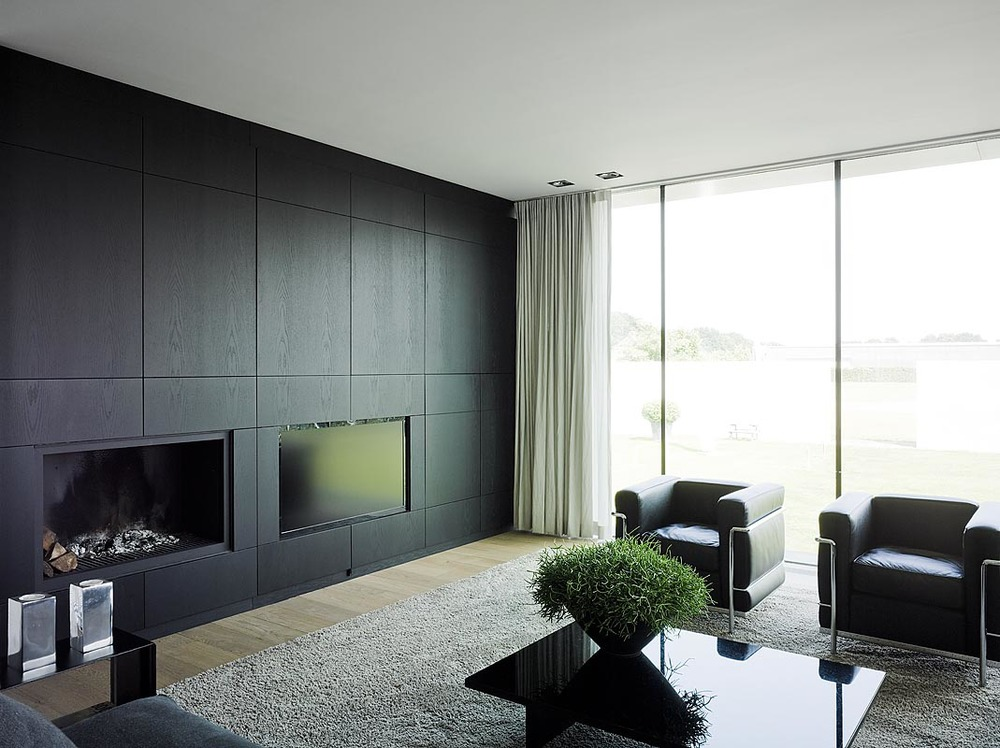kastenwand design woonkamer. Black Bedroom Furniture Sets. Home Design Ideas