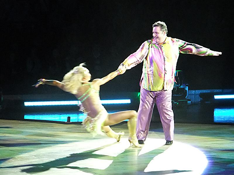 Mark Benton provided the fun factor