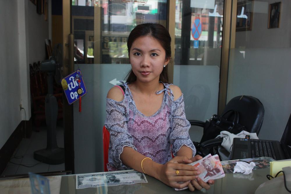 Foreign Exchange Clerk, Vientiane