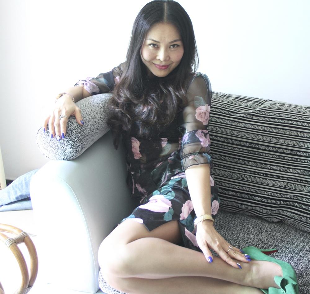 Sarah in Yichang