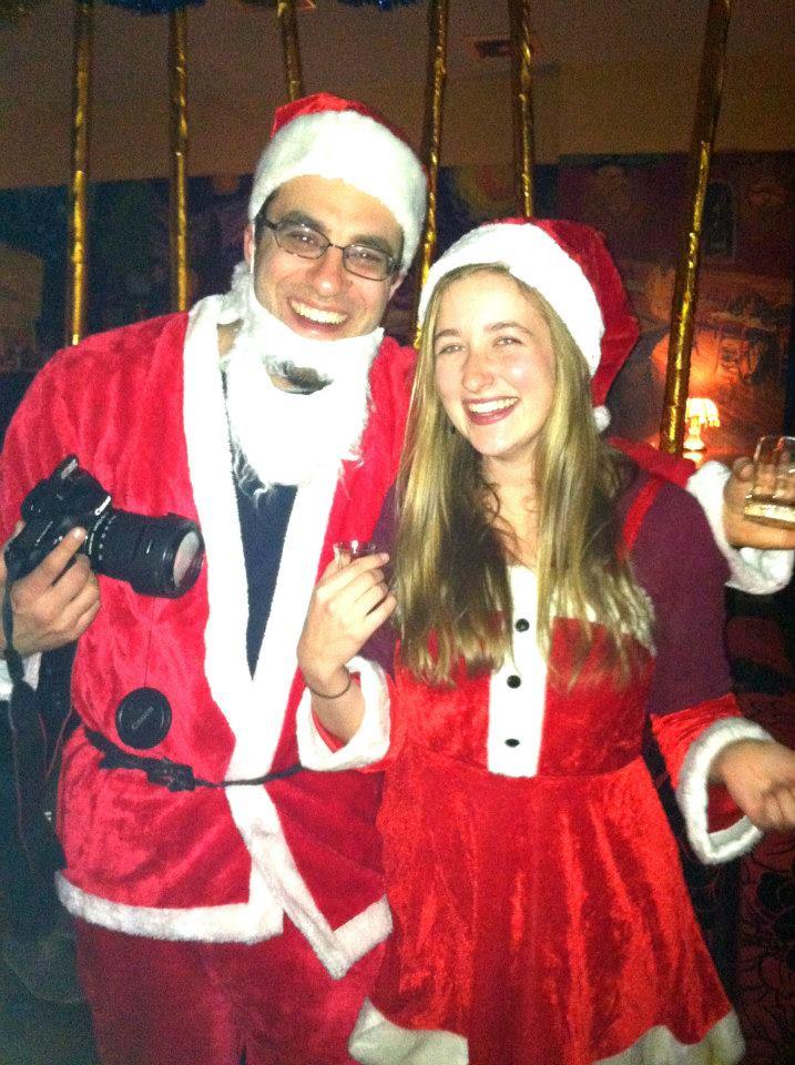 Happy Hometown Bar, Christmas Eve 2013