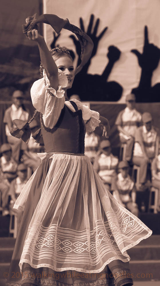 Austrian Girl Dancing