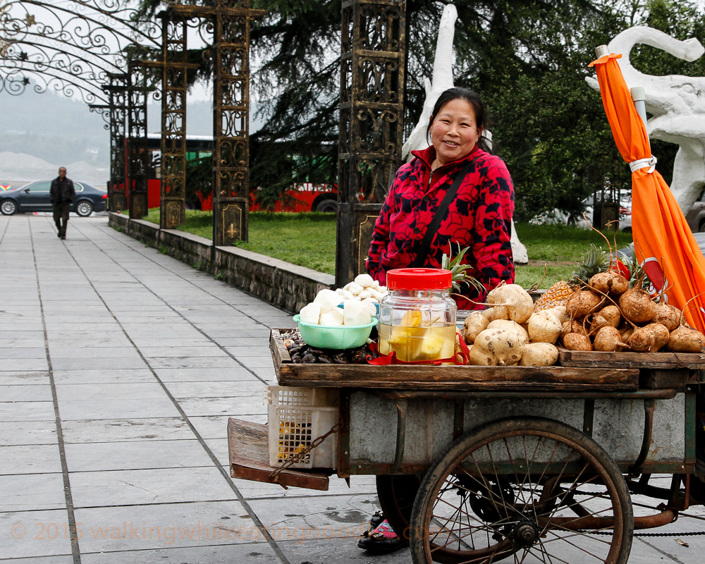 Fruit Seller by the Park