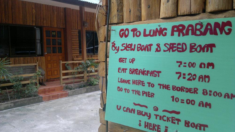 Laos-border
