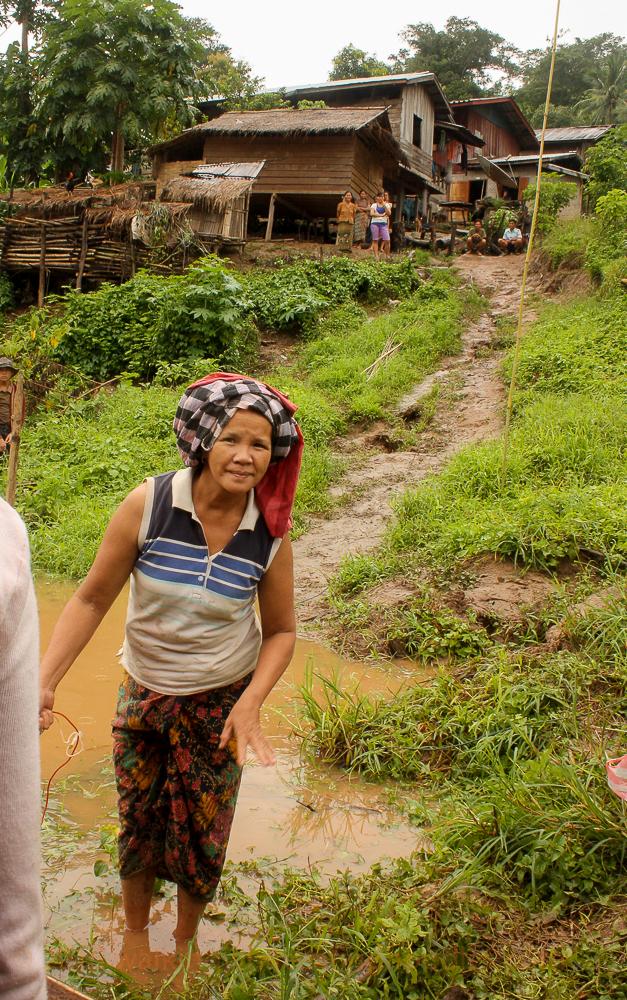 Laotian Village Woman