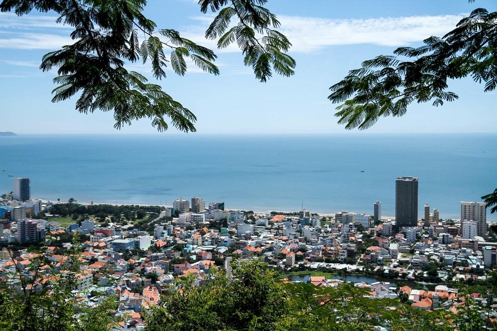 View from Small Mountain, Vung Tau--Vietnam