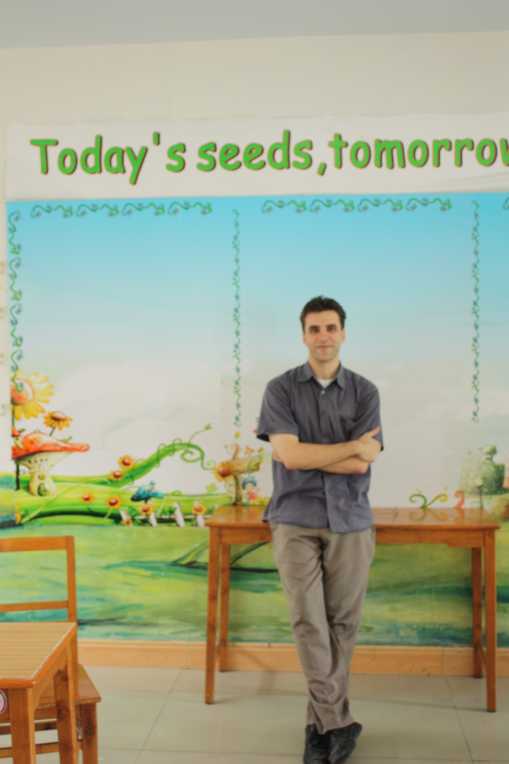 """Today's seeds; tomorrow's trees."""