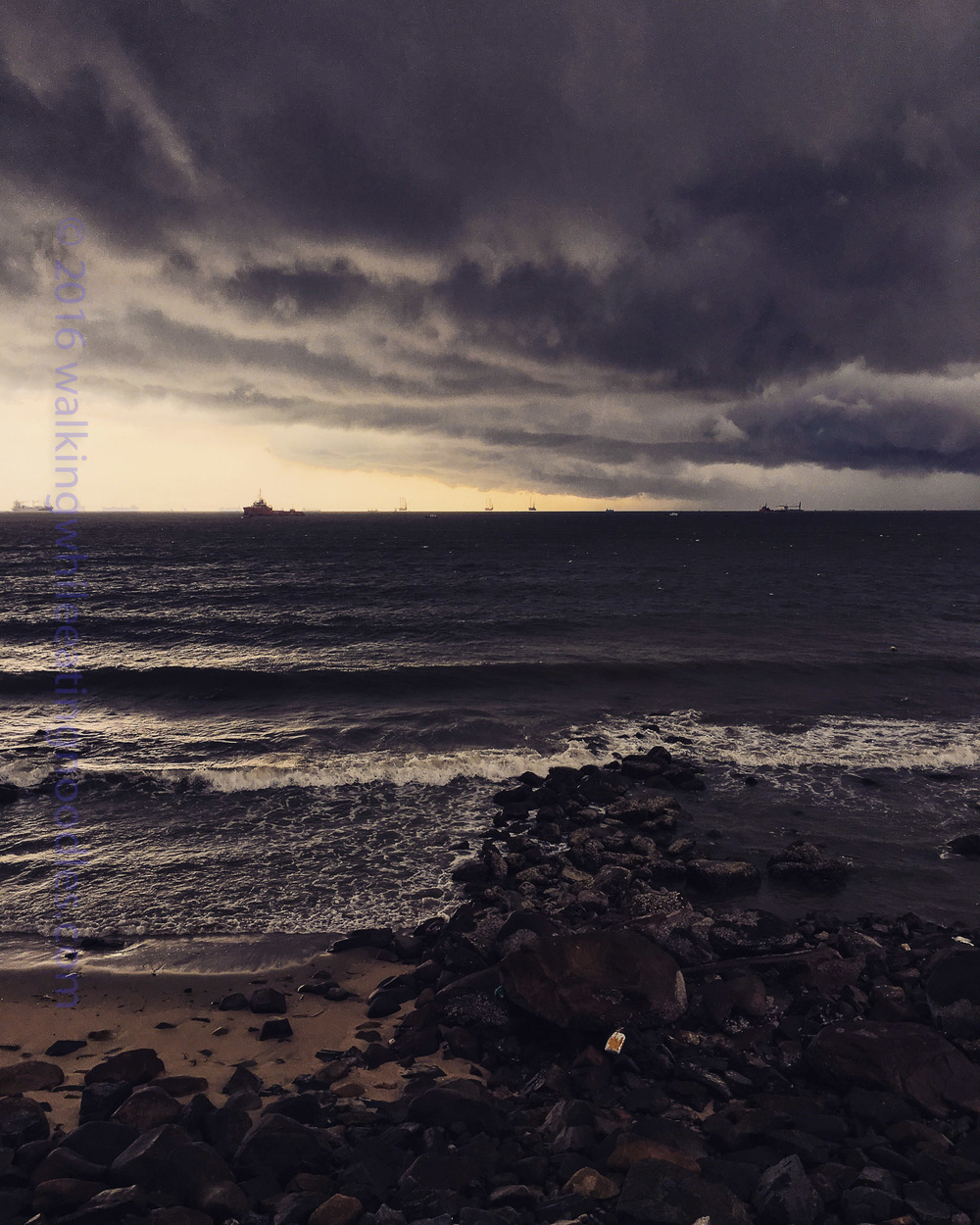 Storm in Vung Tau