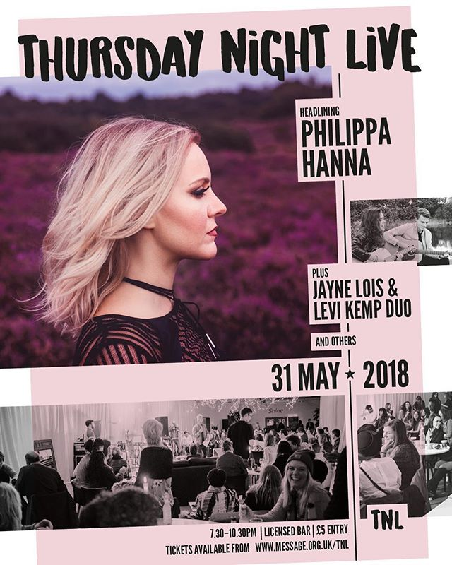 THURSDAY NIGHT LIVE is happening soon with @philippahanna and @jayneloismusic as well as Sarah Beattie! Join us on May 31st for an amazing night of music, drinks, and a CHILLI COOK OFF! Book your tickets now. Link in the bio. #tnl18