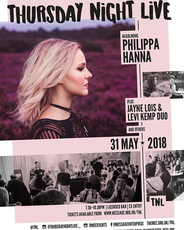 ONE WEEK TODAY we will have the privilege of hearing Philippa Hanna headline for us at TNL! We'll also be having a CHILLI COOK OFF. This is one you won't want to miss. Book your tickets now! #tnl18 #acousticmusic #livemusic #nightout #social #drinks #bar #food #chilli #cookoff #summer #vibes #goodvibes #christian #charity #love